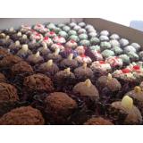 doce de chocolate para festa Sumaré