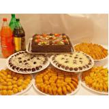 kit promocional festa salgados Morumbi